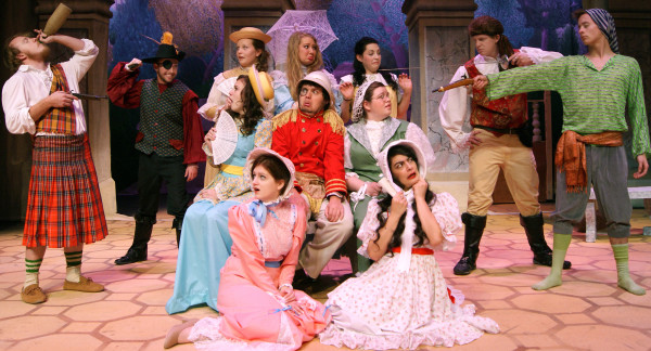 The cast for the next Snow College production of Pirates of Penzance are ready to show you all their amazing skills and maybe even get you to laugh a bit too. Be sure to go and see them in action in the upcoming show. Photo Courtesy Of Snow College Theater Department